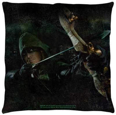 Arrow - Hero Throw Pillow
