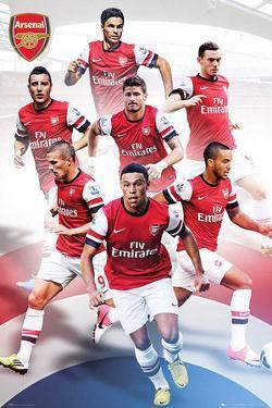 Arsenal FC 2012/13 Players