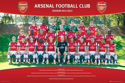 Arsenal FC 2012/13 Team Photo