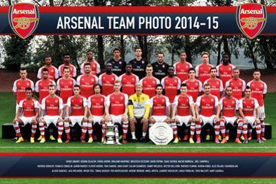 Arsenal Team Photo 14/15