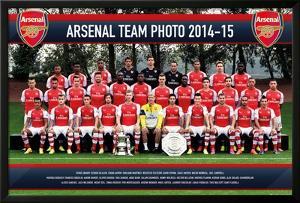 Arsenal Team Photo 14/15