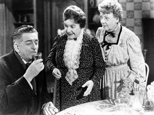 Arsenic And Old Lace, Edward Everett Horton, Josephine Hull, Jean Adair, 1944