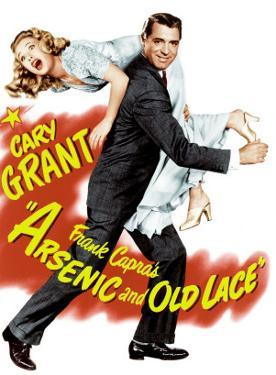 Arsenic and Old Lace, Priscilla Lane, Cary Grant, 1944