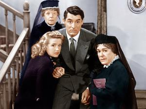 Arsenic And Old Lace, Priscilla Lane, Jean Adair, Cary Grant, Josephine Hull