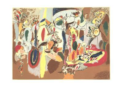 The Liver is the Cock's Comb by Arshile Gorky
