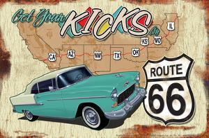 66 Get Kick '55 Belair by Art Alvarez
