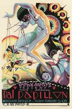 Art Deco Dance Poster