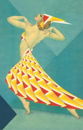 Art Deco Dancer
