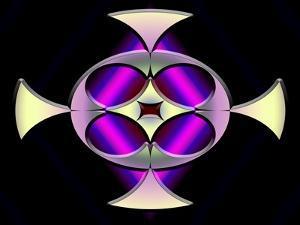 A Dark Splash of Color 45 by Art Deco Designs