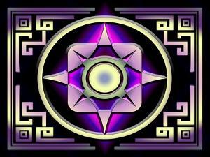A Dark Splash of Color 46 by Art Deco Designs