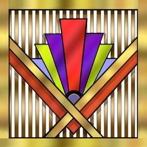 Art Deco 16 by Art Deco Designs