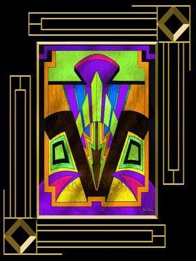 Art Deco Design 5B Frame 3 by Art Deco Designs