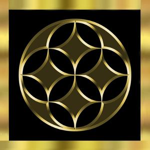 Black and Gold 2 by Art Deco Designs