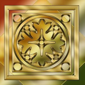 Brass Design 7 by Art Deco Designs