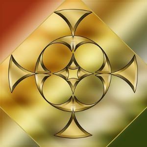 Brass Design 9 by Art Deco Designs
