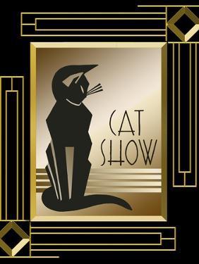 Cat Show Frame 5 by Art Deco Designs
