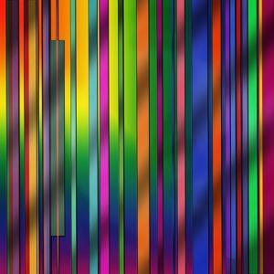 Colorful Stripes by Art Deco Designs