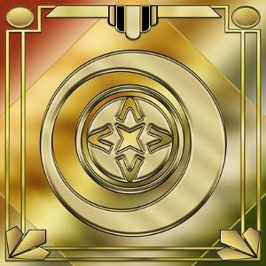 Deco Brass 5 Frame 1 by Art Deco Designs