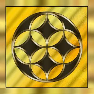 Gold Design 12 by Art Deco Designs