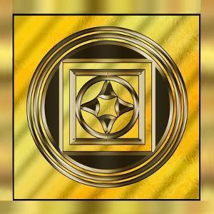 Gold Design 13 by Art Deco Designs