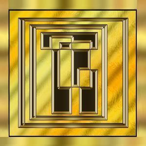 Gold Design 15 by Art Deco Designs