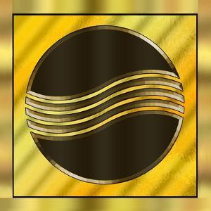 Gold Design 8 by Art Deco Designs