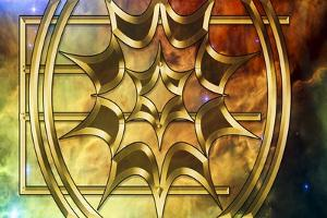 Lagoon Nebula by Art Deco Designs
