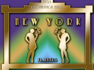 New York Prohibition by Art Deco Designs