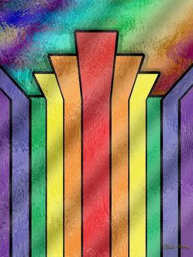 Rainbow 4 by Art Deco Designs