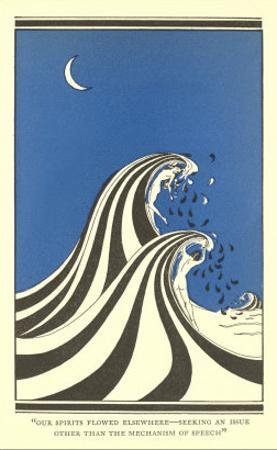 Art Deco Lovers in Waves