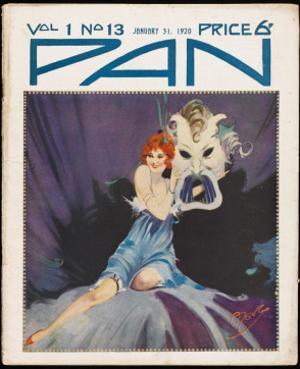 Art Deco Magazine Cover