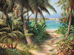 Bahama Sail by Art Fronckowiak