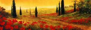 Toscano Panel I by Art Fronckowiak