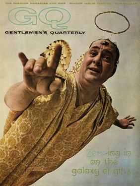 GQ Cover - December 1962 by Art Kane