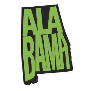 Alabama by Art Licensing Studio