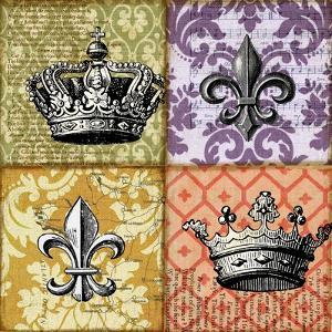 Crown and Fleur by Art Licensing Studio