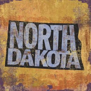 North Dakota by Art Licensing Studio