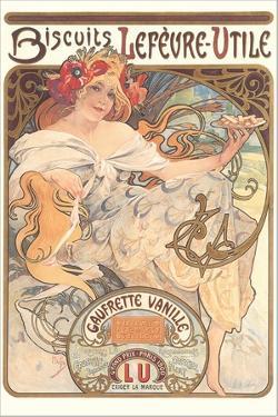 Art Nouveau Cookie Ad