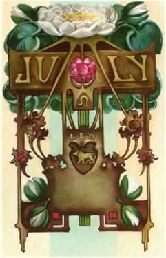 Art Nouveau July, Leo