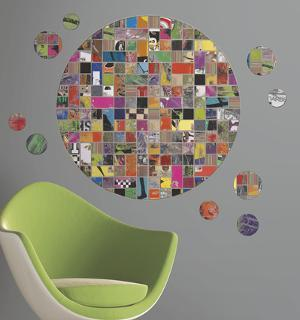Art of Board Giant Circle Peel & Stick Wall Decal