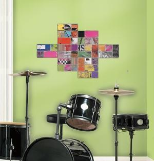 Art of Board Square Peel & Stick Giant Wall Decals