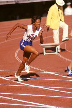 American Sprinter Edith Mcguire at Tokyo 1964 Summer Olympics, Japan by Art Rickerby