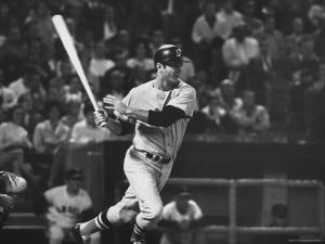 Carl Yastrzemski by Art Rickerby
