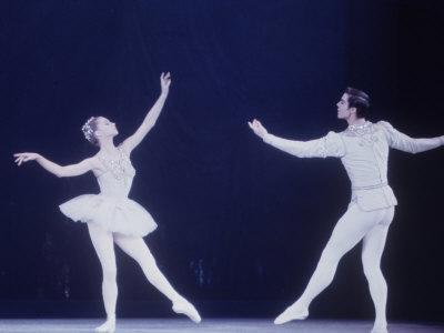 """Jaques D'Amboise Dancing """"Diamonds"""" Sequence with Suzanne Farrell, Balanchine's Ballet """"The Jewels"""""""