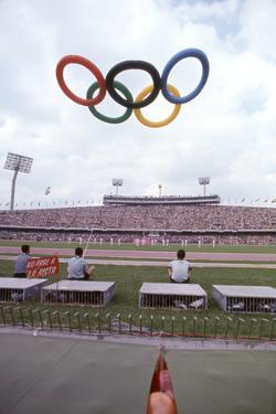 October 12 1968: 19th Olympic Games Opening Ceremony, Mexico by Art Rickerby