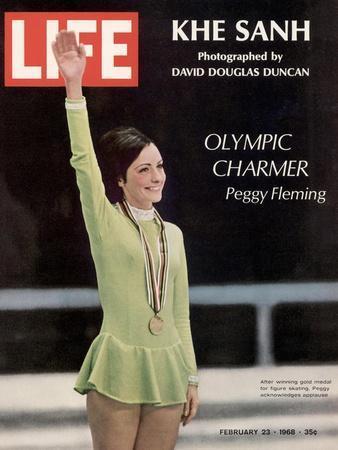 Olympic Charmer Peggy Fleming, February 23, 1968