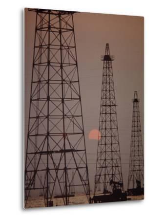 Venezuela Oil Rigs by Art Rickerby