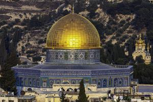 Israel Dome of the Rock by Art Wolfe