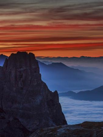 South Tyrolean Dolomites, Italy by Art Wolfe