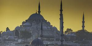 Turkey Mosque at Sunset by Art Wolfe